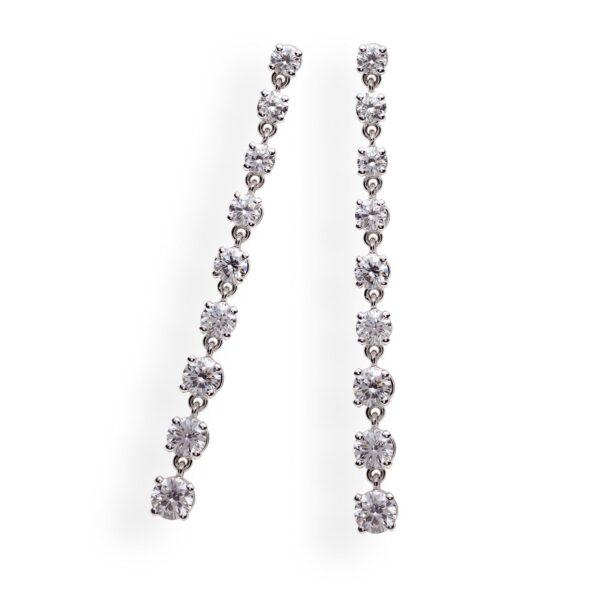 orecchini diamantati