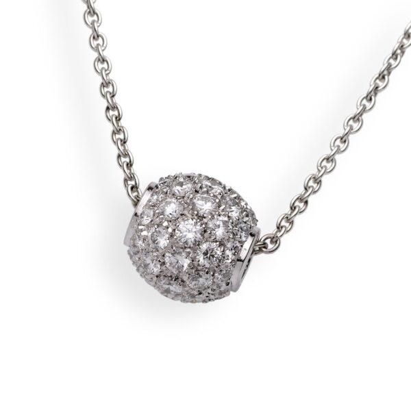 Ciondolo diamantato