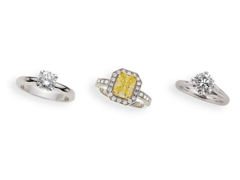 Anelli di fidanzamento con diamante